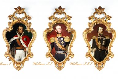 Koningsbiografieën Willem I, Willem II en Willem III