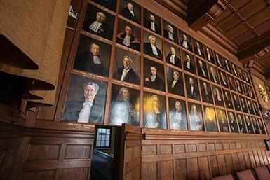 Senaatszaal in het Academiegebouw