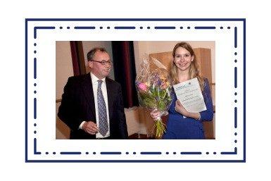 Saskia van Winkel wint scriptieprijs Volkskrant/Duitsland Instituut