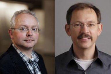 Albert Heck en Geert-Jan Boons