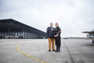 NMM - alumni Paul van Vlijmen en Hedwig Saam