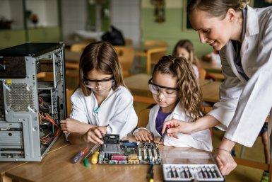 meisjes en techniek