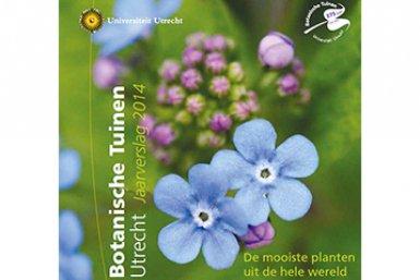 jaarverslag Botanische Tuinen 2014