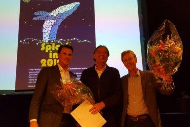 Peter Linde en Jeroen Vermeulen van Learning Lab Overvecht
