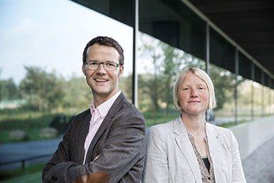 Louk Vanderschuren en Corette Wierenga