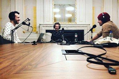 Sanne Akerboom at the Makkelijk Praten podcast