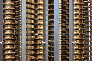 London Science Museums Replica Difference Engine
