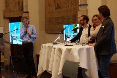 Impact Night 2018 Mark Sanders, Marleen Rijswick en Albert Meijer in gesprek