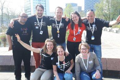 Het dreamteam van Hacking Health Utrecht 2018