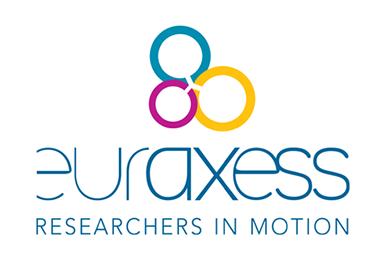 Euraxess logo.