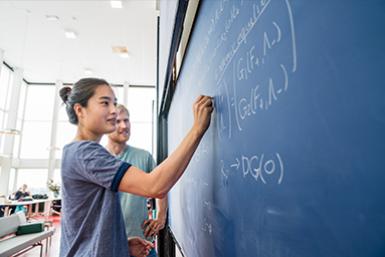 Wiskunde-onderwijs bij bètawetenschappen.