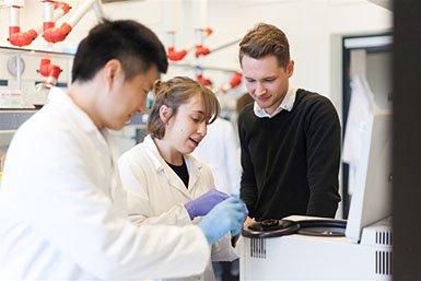 Onderzoekers werken samen bij de Universiteit Utrecht