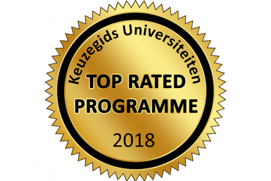 UCU has been awarded the title Top Rated Programme 2018