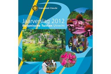 voorkant jaarverslag Botanische Tuinen 2012