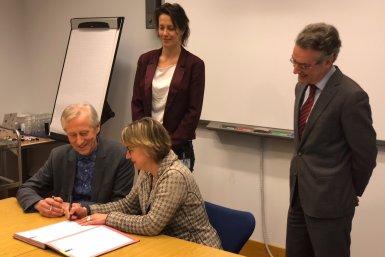 Ondertekening convenant BZK en UU