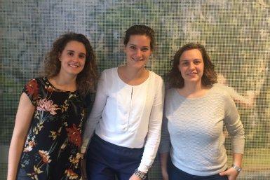 Suzanne, Yvette en Johanneke