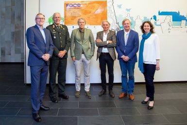 Kick off meeting met de alliantie UU, UMC Utrecht, TUe en WUR bij Defensie