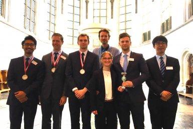 Team Utrecht University, winners of the NILOS MCC