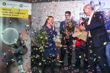 Iris Otto wins Breaking Science 2018