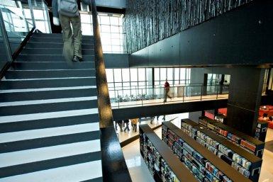 University library Utrecht Science Park/De Uithof