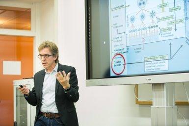 Henk Dijkstra at opening CLUe