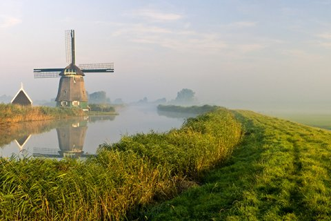 Polder in the Netherlands