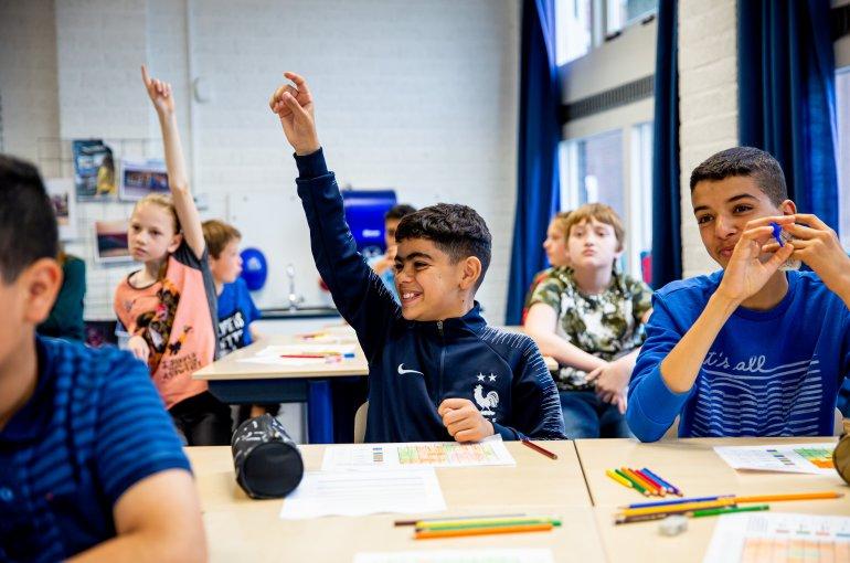 kinderen in klaslokaal