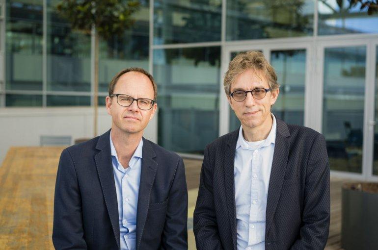Bert Klein Gebbink en Henk Dijkstra