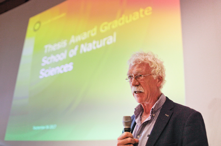 Scriptieprijs Graduate School of Natural Sciences