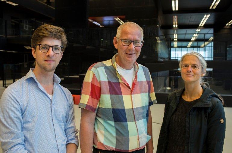 Peter Bijl, Thomas Schonewille and Henriette Schlupmann