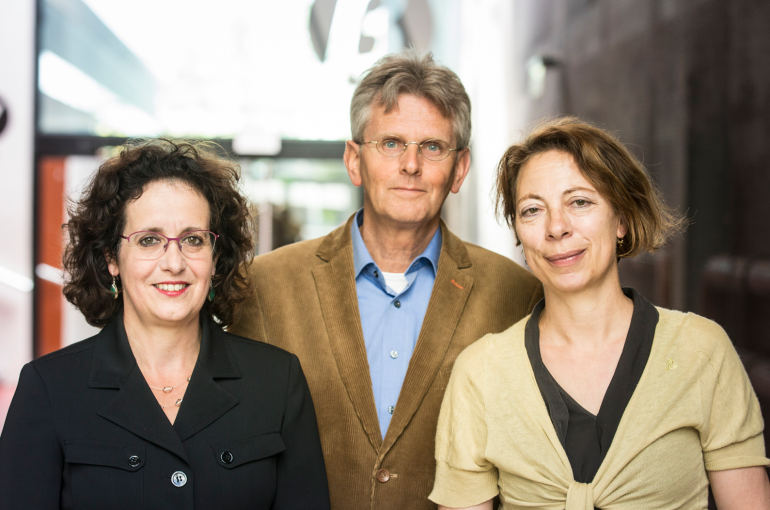Marca Wauben, Rens Voesenek en Denise de Ridder