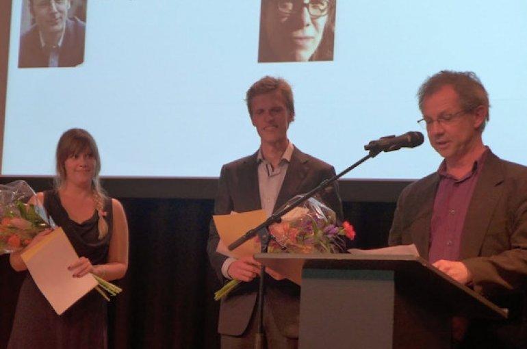 Iris Clevers en Niels Terpstra (scriptieprijs 2014)