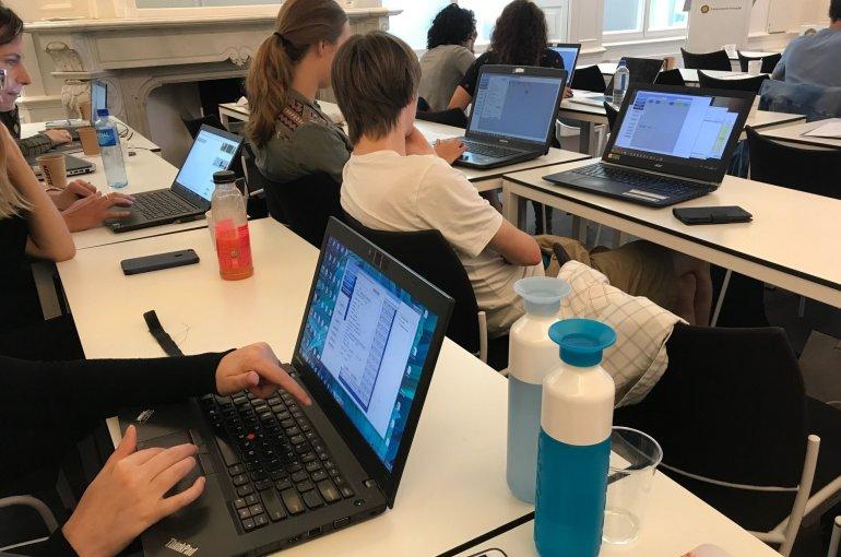 Workshop on Interactive Digital Narrative (photo: Hartmut Koenitz)