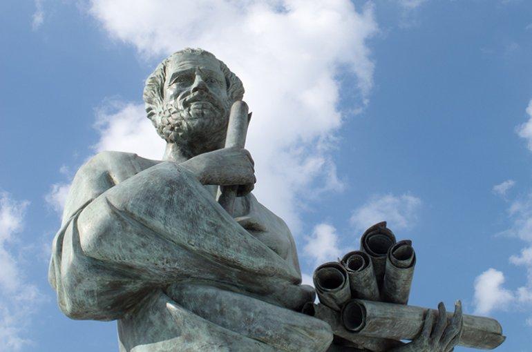 Aristoteles (384 v.Chr. – 322 v.Chr.) © iStockphoto.com