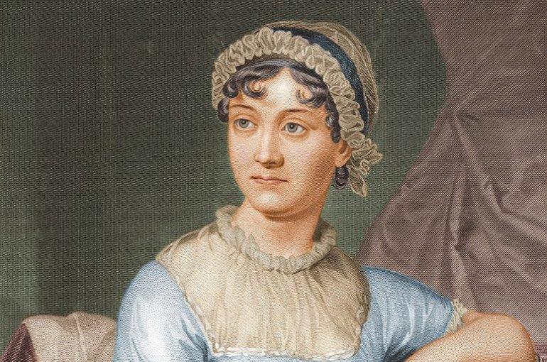 Jane Austen (1873). Bron: Wikimedia Commons