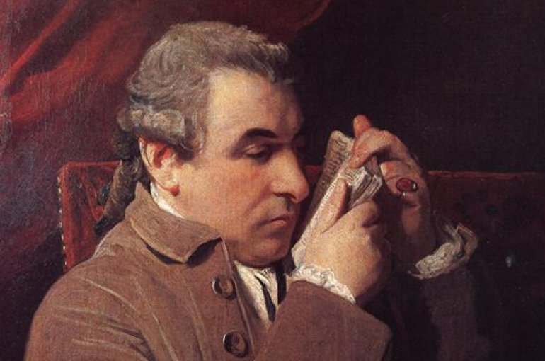 Giuseppe Baretti (1719 - 1789). Bron: Wikimedia
