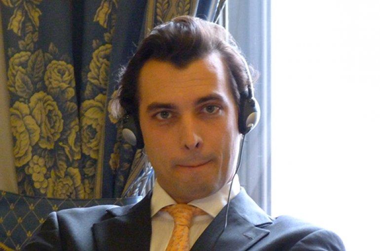 Thierry Baudet. Bron: Wikimedia Commons/Elekes Andor