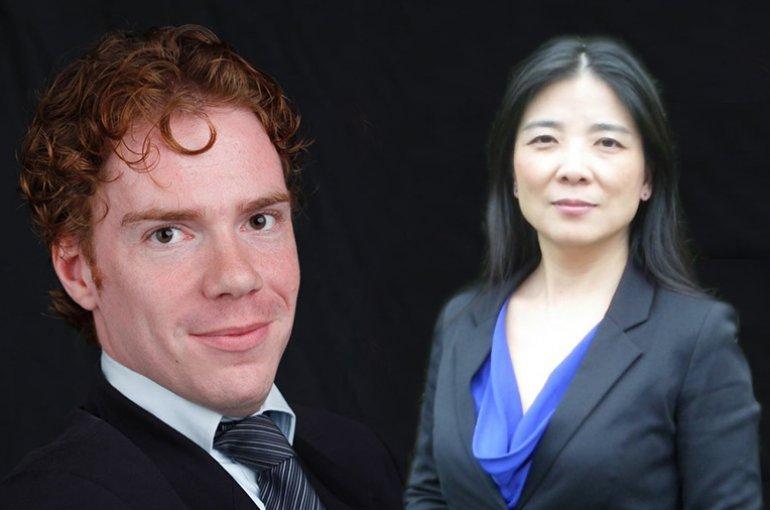 Dr. Bas van Bommel en dr. Aoju Chen