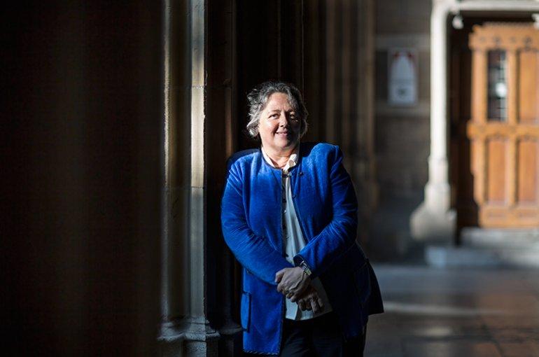 Prof. dr. Rosi Braidotti. Foto: Ed van Rijswijk