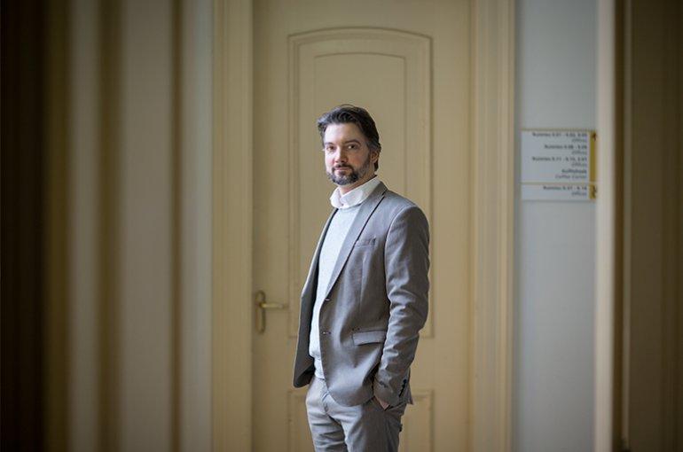 Prof. dr. Daniel Cohnitz.  Foto Ed van Rijswijk