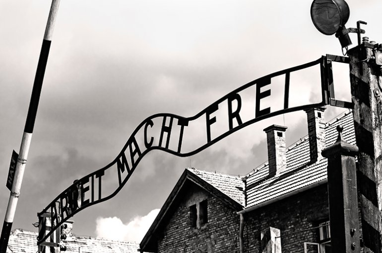 Concentratiekamp Auschwitz Birkenau © iStockphoto.com/ewg3D