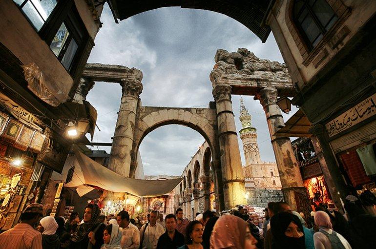 Damascus, Syrië © iStockphoto.com