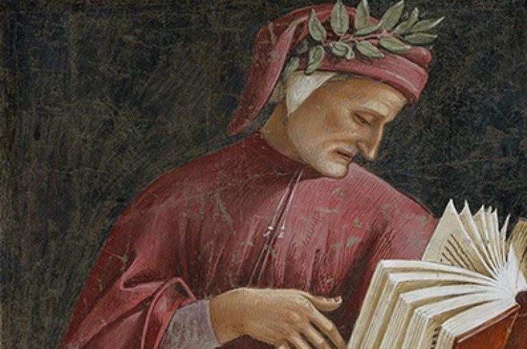 Dante Alighieri by Luca Signorelli  (–1523). Bron: Wikimedia