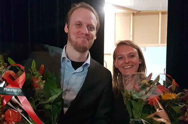 Kay Boers en Maud Groenendijk