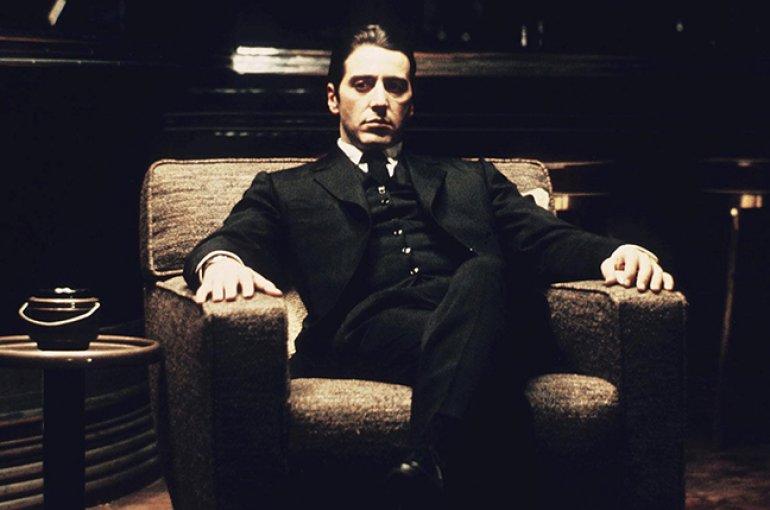 Al Pacino als Michael Corleone in The Godfather (1972)