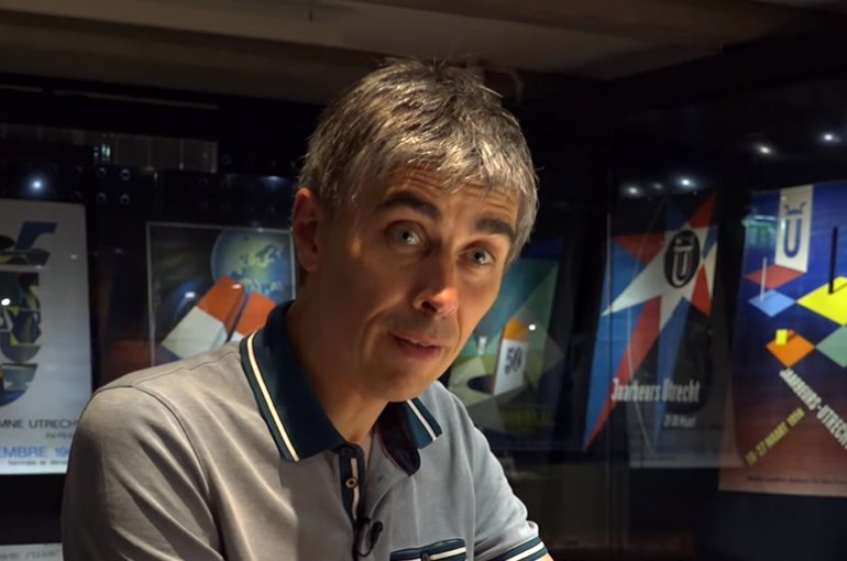 Prof. dr. Oscar Gelderblom. Bron: YouTube (still)