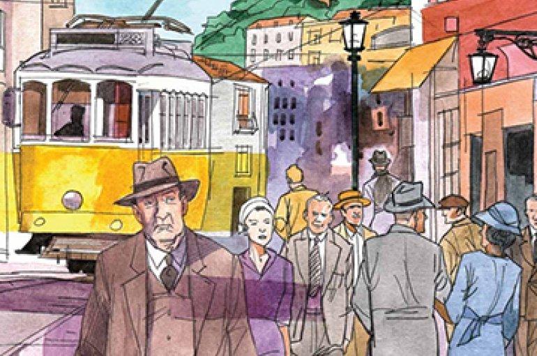 Graphic novel 'Sostiene Pereira' gebaseerd op het gelijknamige meesterwerk van Antonio Tabucchi (1943-2012)