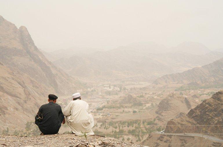 Grens tussen Pakistan en Afghanistan © iStockphoto.com