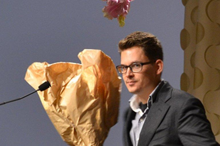 Winnaar Karel van Mandeprijs: Merlijn Hurx. Bron: kunsthistorici.nl
