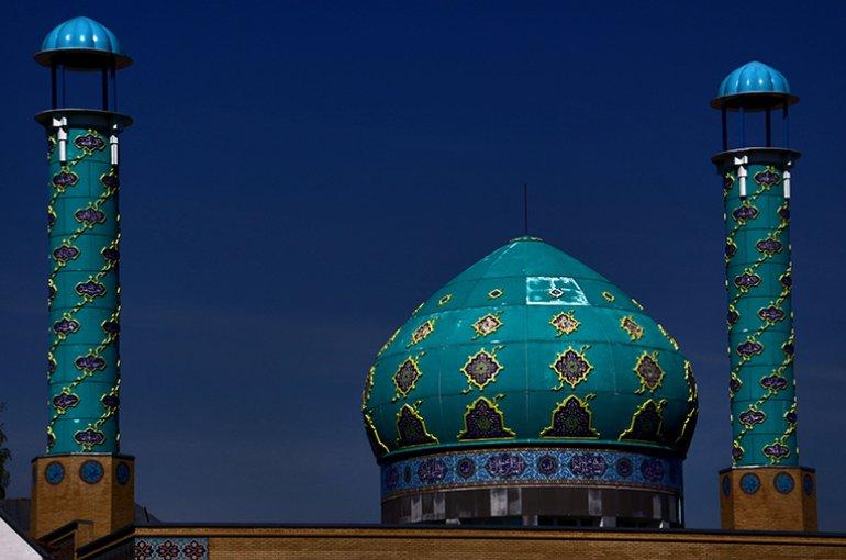 Imam Ali Moskee in Kopenhagen. Bron: Wikimedia/Guillaume Baviere
